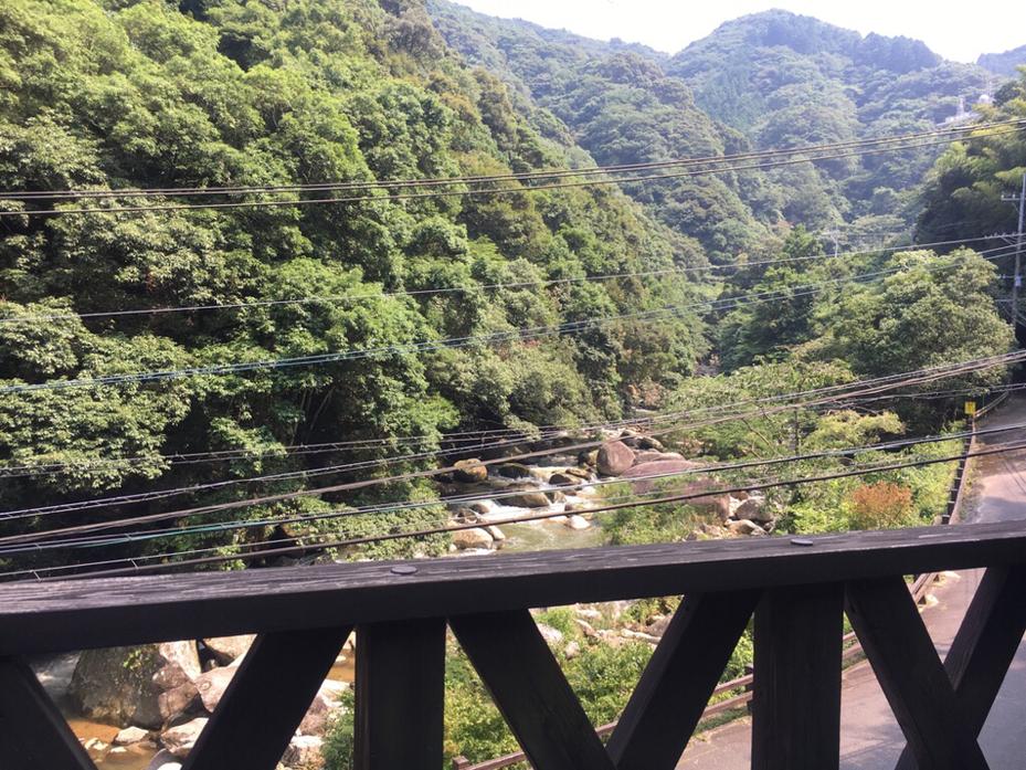 福岡県那珂川町にある筑紫耶馬渓の写真