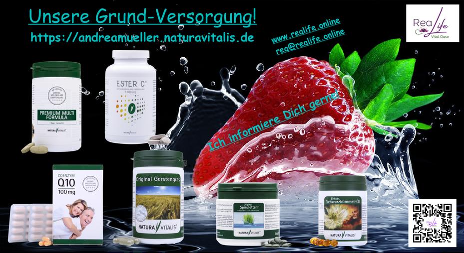 Grundversorgung Nahrungsergänzungsmittel - Natura Vitalis