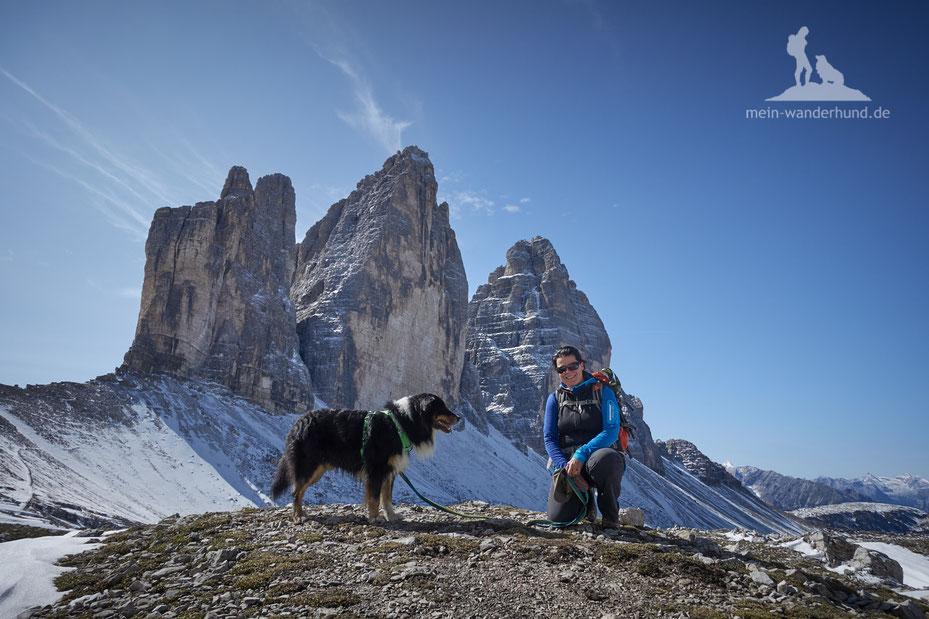 Mit Hund in den Dolomiten: Wanderung zum Lago de Sorapiss