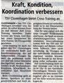 Bericht Kreiszeitung vom  14.10.2017