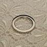 Amalia Weissgoldener Memoire-Ring