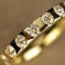 Elenora vollbesetzter Diamantring