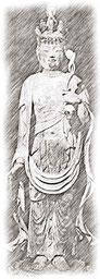伝円仁作の像