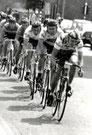 Rennen in Belgien, vorn Lucien Didier