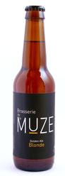 Bière blonde, pale ale, Brasserie de la Muze.