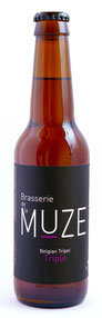 Bière Triple, Belgian Ale, Brasserie de la Muze.