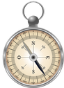 Boussole symbole de l'orientation professionnelle  par Laurence Martin, psychologue du travail