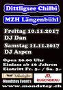 DJ Aspen, DJ Dan, Mondstey Party, Disco, Bar, Mehrzweckhalle Längenbühl Forst Grizzlybär 2017 November 11