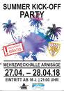 Summer Kick-off Party Arnisäge, 28. April 2018, Arni, DJ Aspen, Speedy, Röfe, Party, Disco, Ausgang, Event, Ausgang, Veranstaltung, Bar, Bern, Thun, Emmental