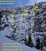 Guide de haute montagne maurienne aussois cascade de glace alpinisme topo lac du lait doron Matthieu BRIGNON