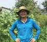 元デザイナーの飯塚さんが手掛けるのは太陽暦に従って農を営むこと。
