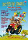Flyer Fest für Kinder 2013 zum Thema Bauernhof