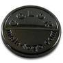 logo tag gun metal