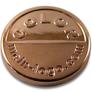 Logo emblem für Taschen