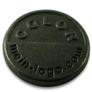 Logoanhänger schwarz