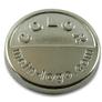 Logo Anhänger silber