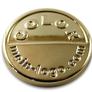 Logoplättchn rosegold