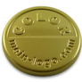 Logo tags gold