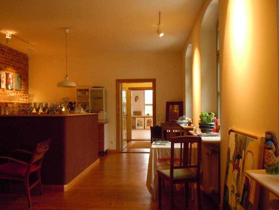 Ateliercafé Wendisch Rietz, gemütliches Ausflugslokal,