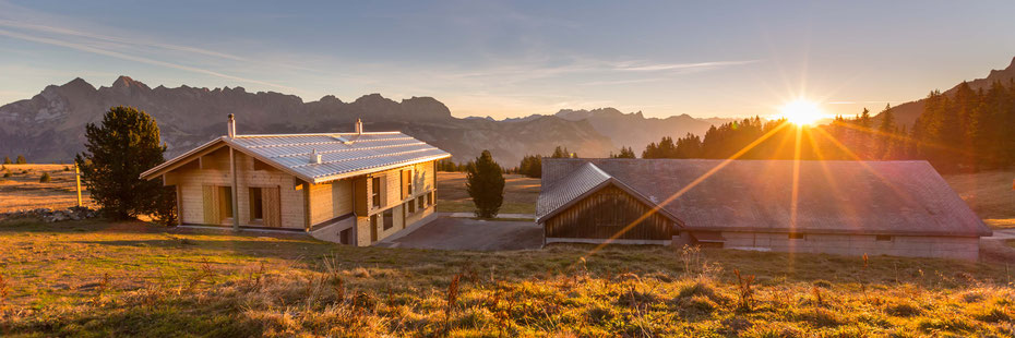 Alpenlodge Prod im Winter