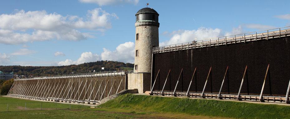 Der Windmühlenturm an der Langen Wand in Bad Nauheim