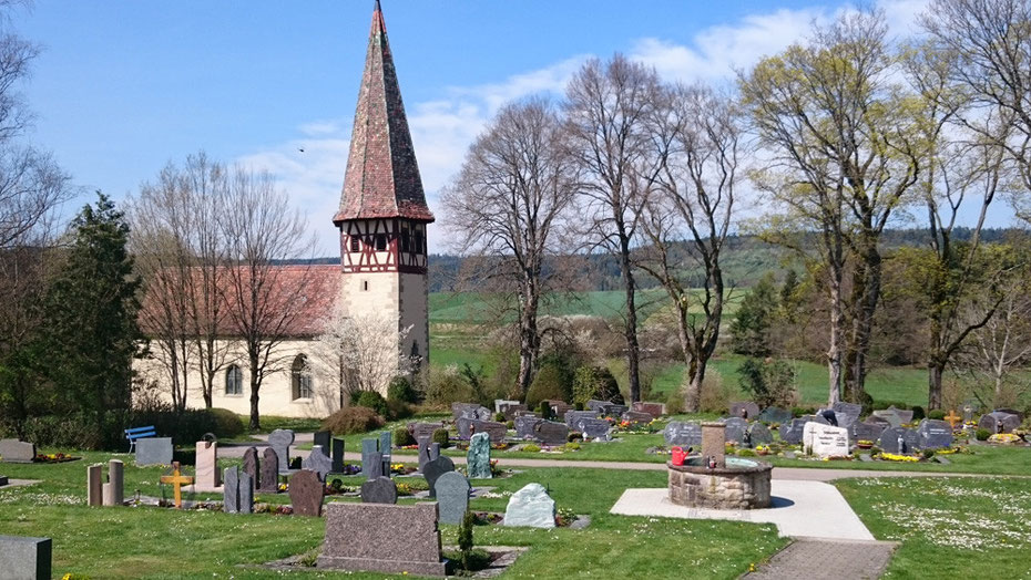 Friedhof in Haigerloch Gruol