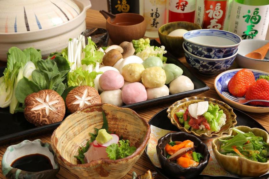 すっぽん生麩鍋