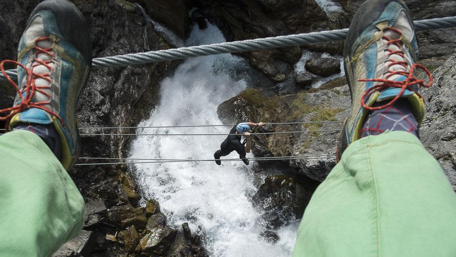 Klettersteigset Neue Norm : Klettersteig set norm en 958:2017 bergführerbüro reutte