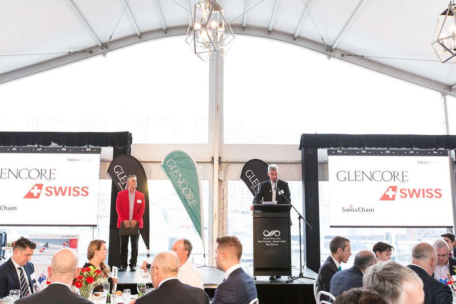 Swiss Business Award Ceremony 2019, Maritime Museum Sydney.