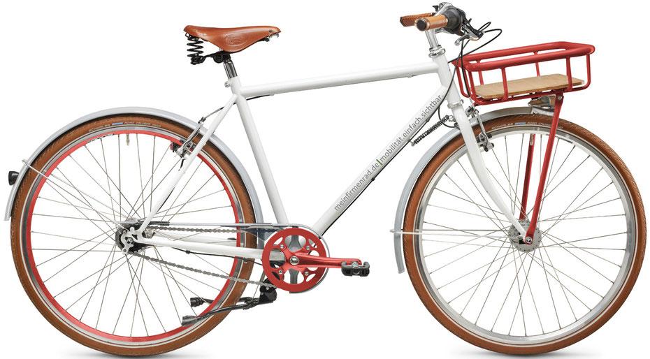 Ein individuell gestaltetes Herren-Fahrrad von meinfirmenrad.de