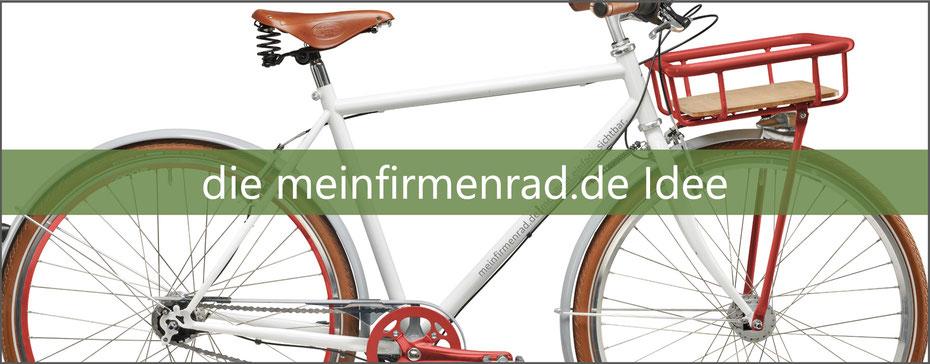 Lesen Sie die meinfirmenrad.de - Idee