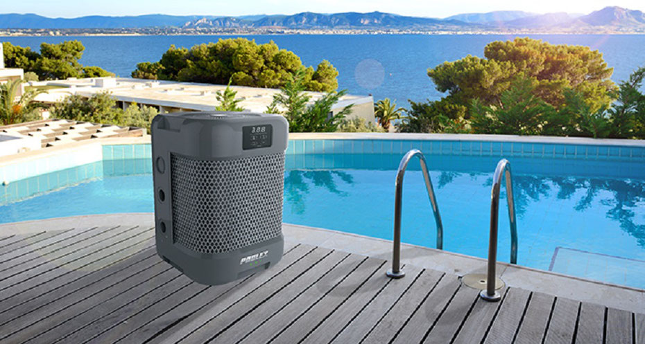 Pompe di calore per riscaldare le piscine