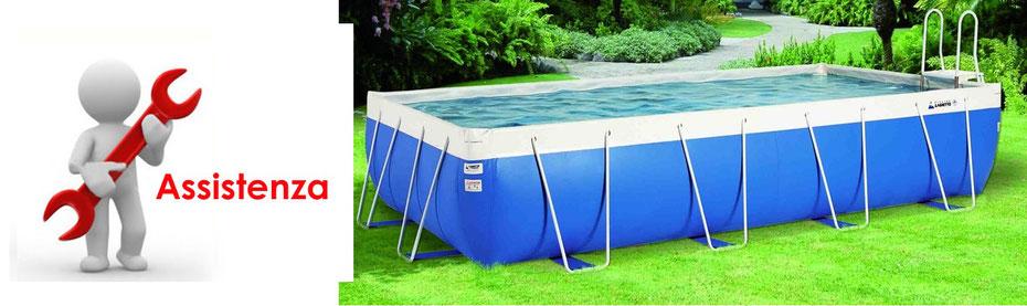 Ricambi e assistenza per piscine