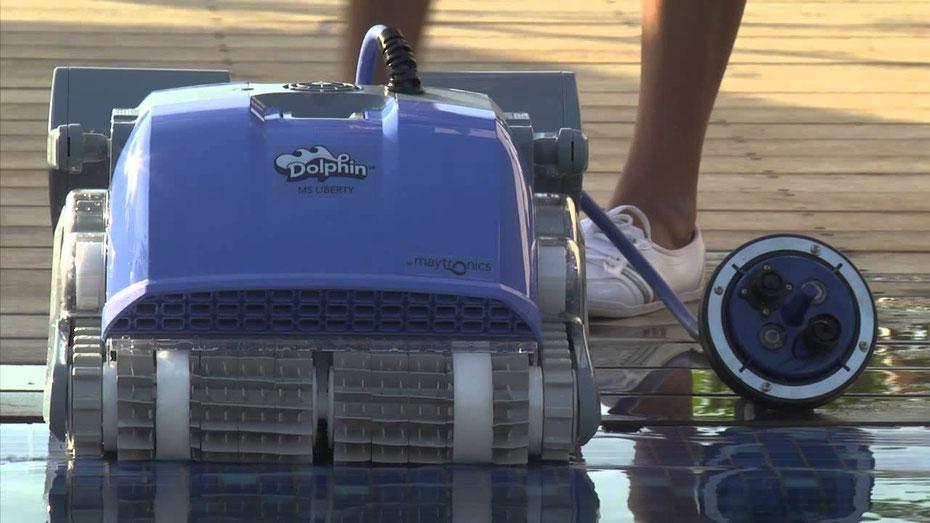 Robot per piscine Dolphin Supreme M5 Liberty