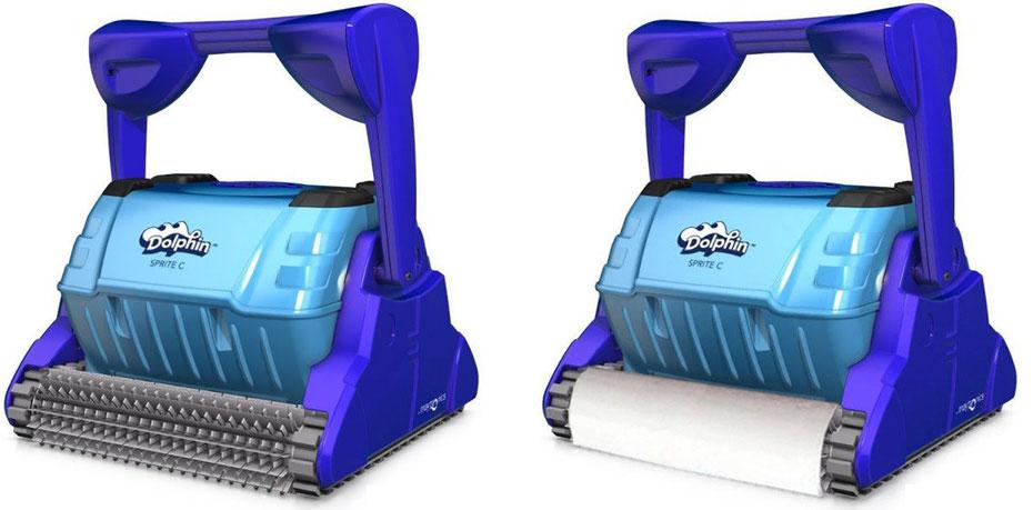 Robot pulitore per piscine Dolphin Sprite C