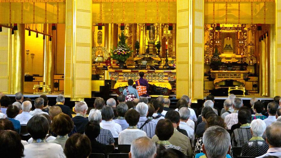 第25代専如ご門主様 東京教区ご巡回・築地本願寺ご巡拝