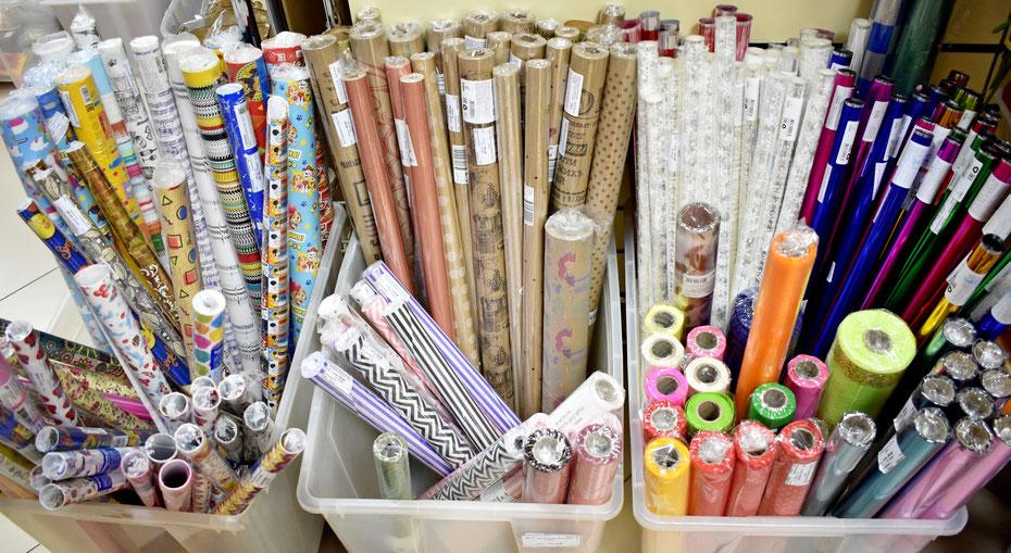 Декоративные бумага и плёнки для упаковки подарков купить в Казани