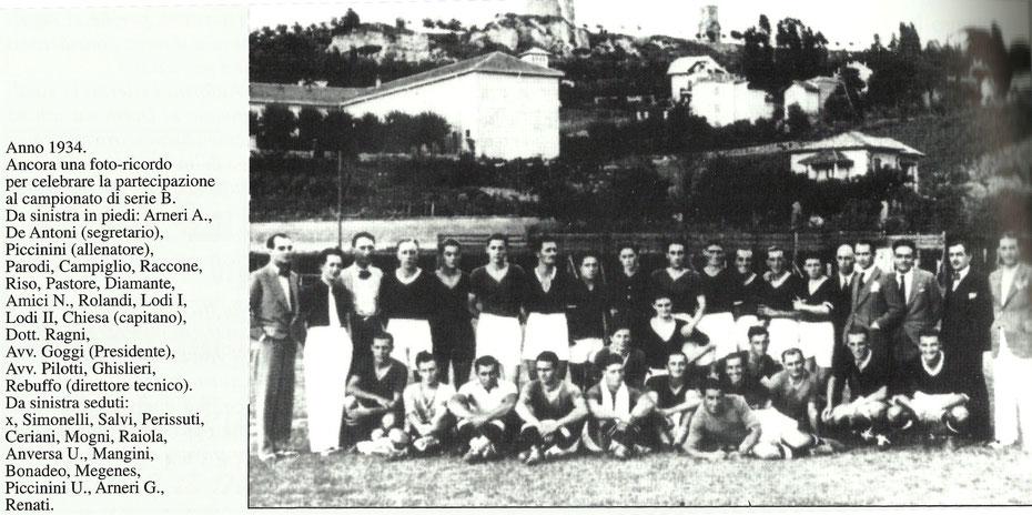 ROSA DEL DERTHONA 1934