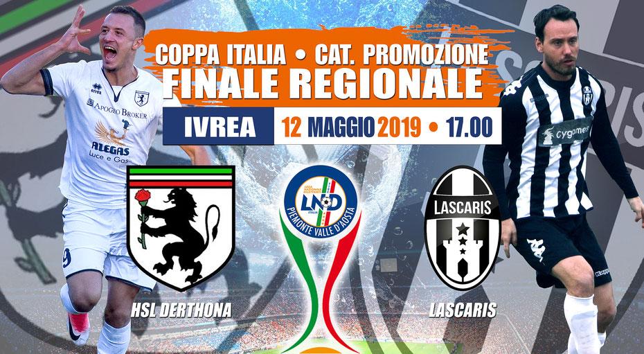 FINALE COPPA ITALIA 2019 PROMOZIONE HSL DERTHONA LASCARIS