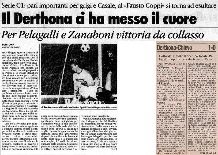1989-90 DERTHONA-CHIEVO 1-0
