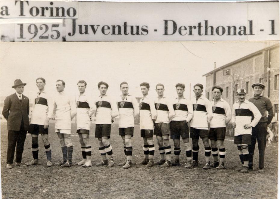1925 A Torino contro la Juventus