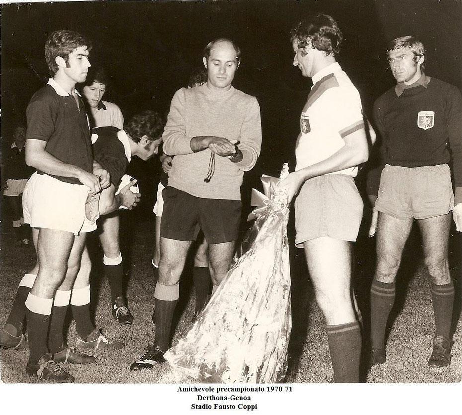1970-71 Amichevole col Genoa