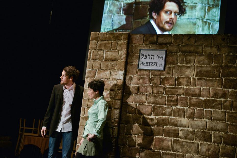 »Die Palästinenserin« Theaterstück von Joshua Sobol am Theater der Altmark 2016 (kk)