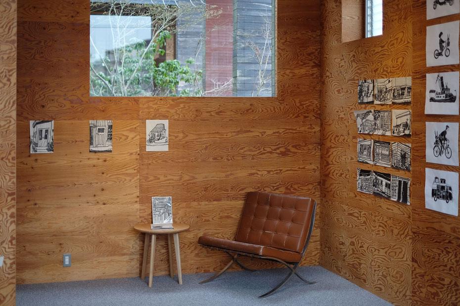 森×hako ギャラリー 展示空間  | UID 一級建築士事務所 (Universal Innovation design)