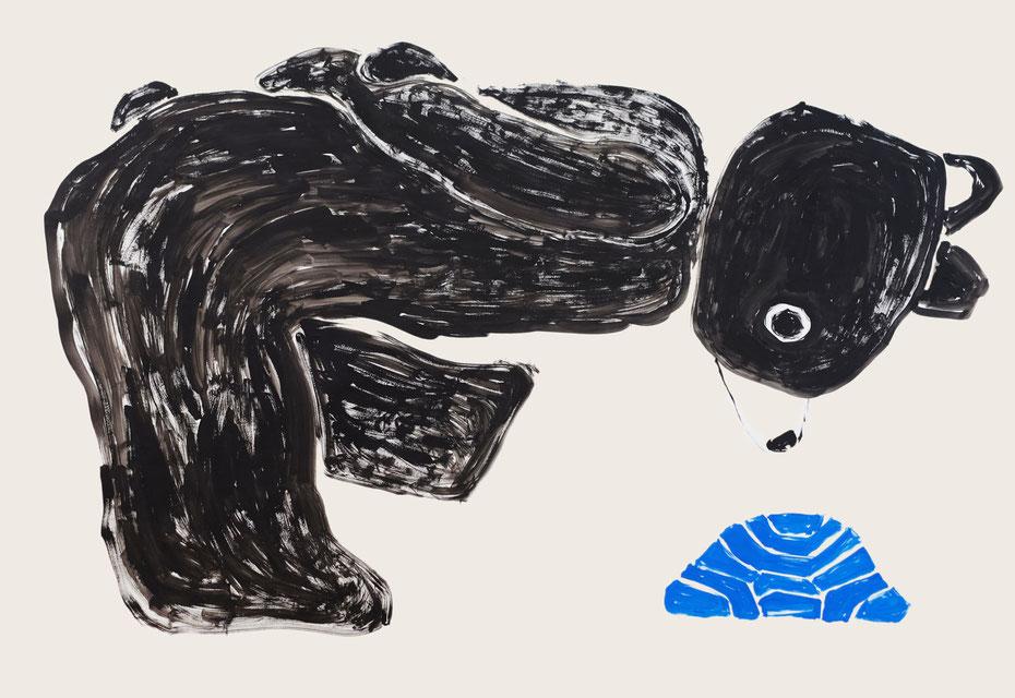 Drawing art by Japanese artist Takashi Miyata