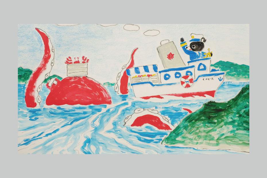 Takashi Miyata Illustration and picturebook 絵本作家ミヤタタカシの絵本、語り久保田夏菜