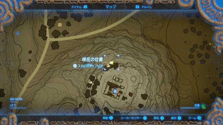 アッカレ砦跡