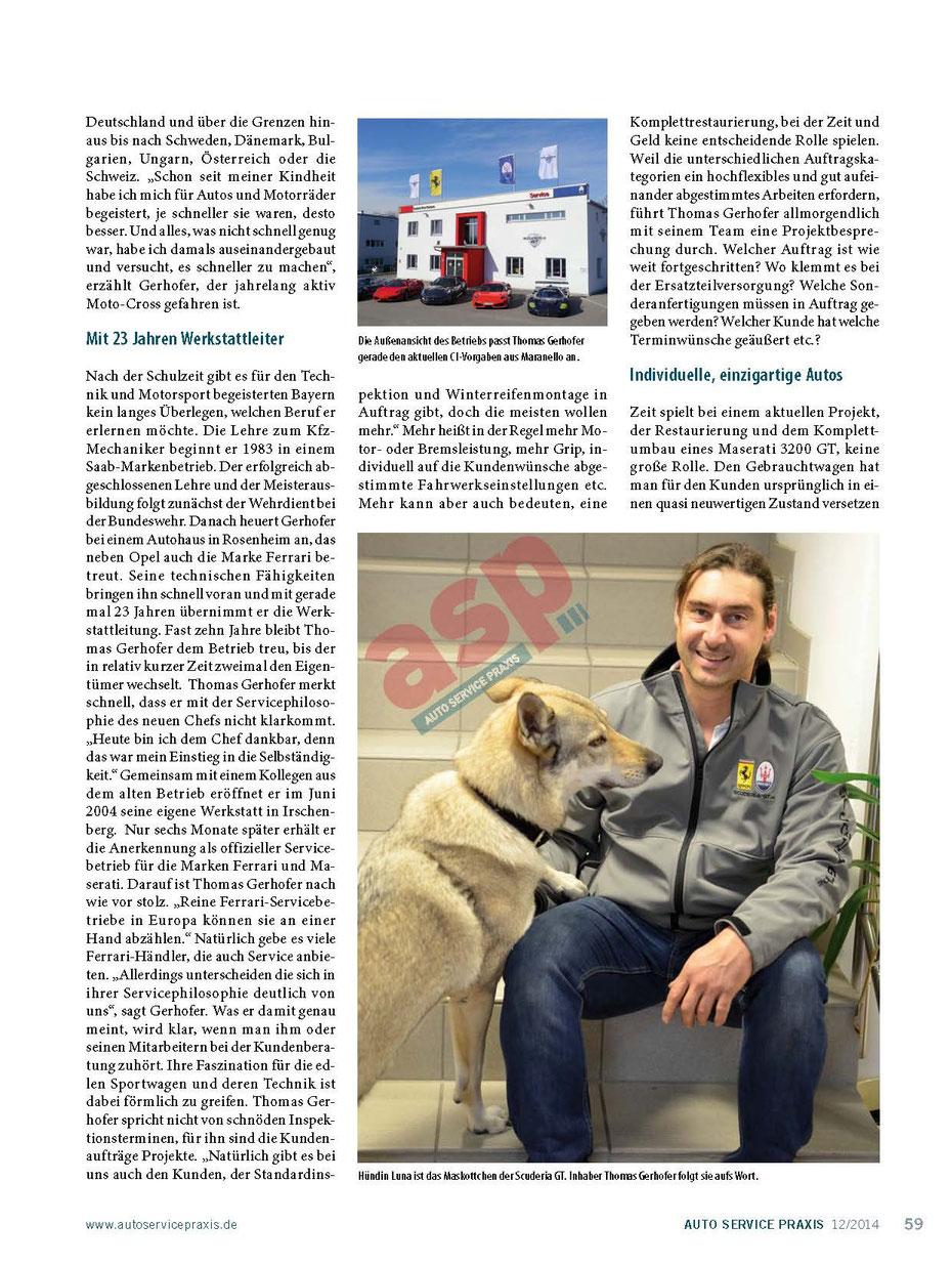 Scuderia GT: Der mit dem Wolf schraubt 2