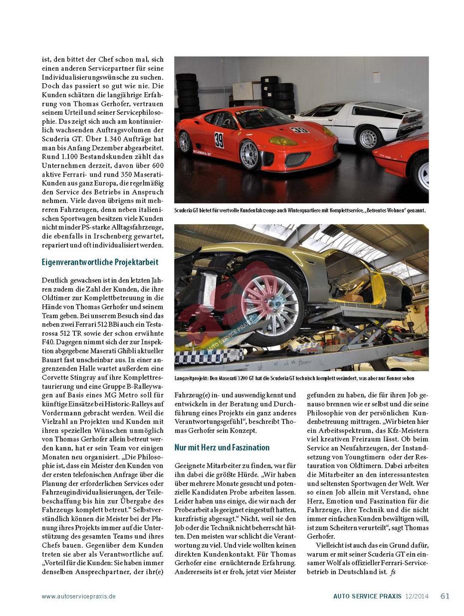 Scuderia GT: Der mit dem Wolf schraubt 4