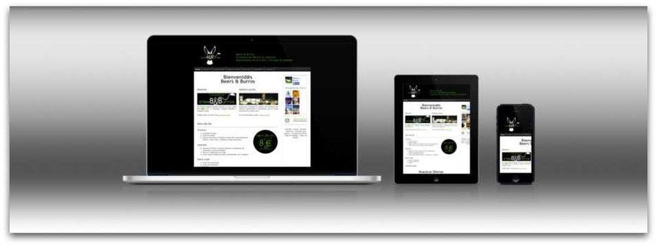 Crea un lanzador de tu página web